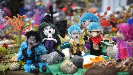 Makers' Month at The Forum in Norwich.Picture: ANTONY KELLY