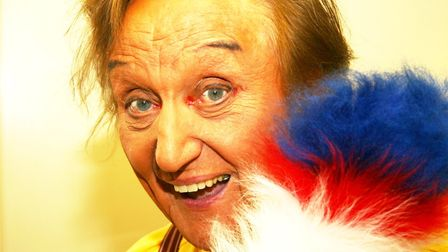 Comedian Sir Ken Dodd during one of his Norfolk appearances. Picture: MAURICE GRAY