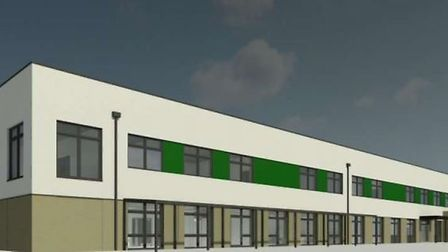 A design showing how the school could look. Photo: NPS Group