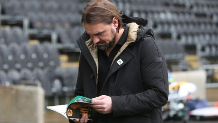 Norwich City head coach Daniel Farke has had plenty of food for thought during his first season in c