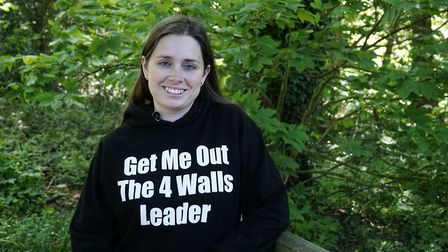 Naomi Farrow who started the charity Get Me Out of The Four Walls for mums who sufer with post-natal