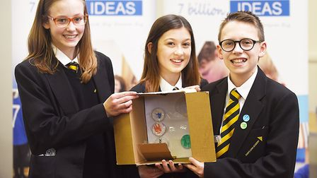 The 7 Billion Ideas event at Providence Street in King's Lynn. The winning idea was a Save our Socie