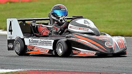 Daniel Clark on his way to two dominant victories at last year's August meeting at Snetterton. Pictu