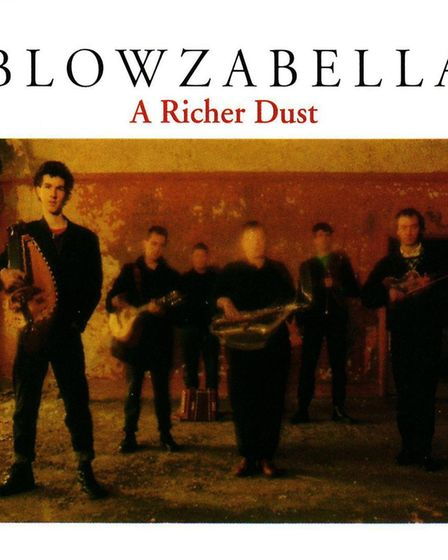 A Richer Dust, the 1988 album from Blowzabella who are celebrating their 40 anniversary. Photo: Subm