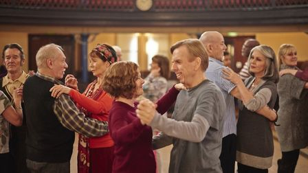 Imelda Staunton and Timothy Spall amonst the cast of Finding Your Feet. Photo: Entertainment One