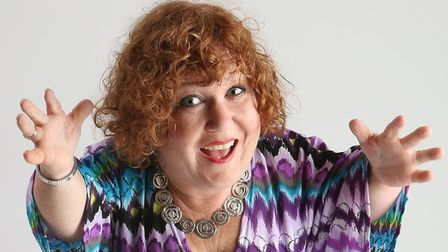 Canadian comic Tanyalee Davis who now lives in Norwich. Photo: Submitted