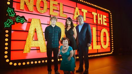 Live at The Apollo Christmas Special that saw Tanyalee Davis appear with Nina Conti, Josh Widdicombe