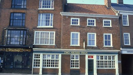 The Two Necked Swan in Great Yarmouth has been closed since 2007. Photo: Colin Tooke Collection
