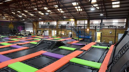 Jump Warehouse a new indoor trampoline park for Great Yarmouth is expected to open in time for the F