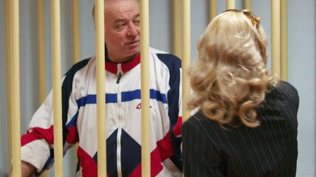 Sergei Skripal during a hearing at the Moscow District Court