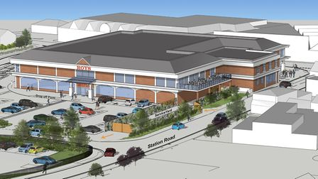 What the new Roys of Wroxham will look like. Picture: Chaplin Farrant Ltd