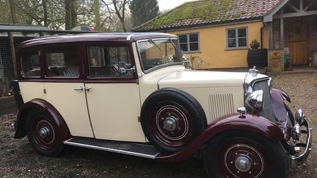 the 1937 Armstrong Siddeley vintage car which will be making an appearance at Wymondham Choc Fest.