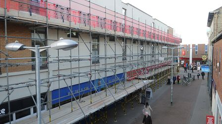 Flats above shops in Broad Street, King's Lynn, are being converted into short-term accommodation fo