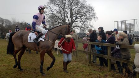 Waveney Harriers Point-to-Point returns to Higham on Sunday. Picture: Lucy Taylor