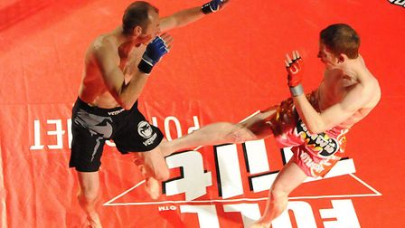 Cage fighting. A new gymnasium where people can practice could open in Norwich. Photo: Andy Darnell.