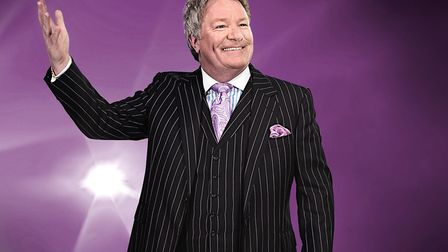 Jim Davidson appeared at Cromer Pier. (Picture: Contributed)