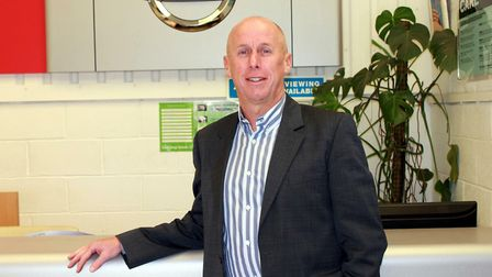 Kevin Abbs, director of North Norfolk Nissan dealer Crayford and Abbs, which recently launched the n