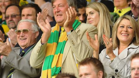 Norwich City V Ipswich Town derby play-off at Carrow Road in 2015. Stephen Fry. Picture: DENISE BRAD