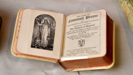 Great and Small Books exhibition at Norwich Cathedral Library.Picture: ANTONY KELLY
