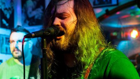 Chris James performing at the Walnut Tree Shades in 2016. Picture: Alyssa Riggs - Ace of Hearts phot