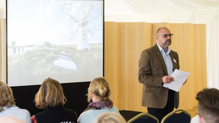 Broads Tourism Members meeting and AGM at The Ivy House Country Hotel. Greg Munford. Picture: Nick B