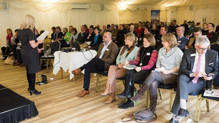 Broads Tourism Members meeting and AGM at The Ivy House Country Hotel.Picture: Nick Butcher