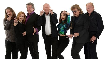 Jasper Carrott and his band, who will be closing this year's Holt Festival with a comedy and music s