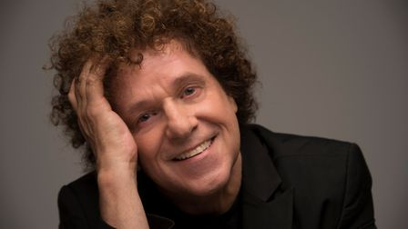 Seventies pop star Leo Sayer, who will be appearing at this year's Holt Festival. Photo: HOLT FESTIV