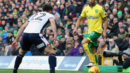 Moritz Leitner pulled a first half chance wide against Bolton. Picture: Paul Chesterton/Focus Images