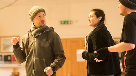 The cast of Sicarius are in the final stages of rehearsals for the musical. Picture: Lee Johnson