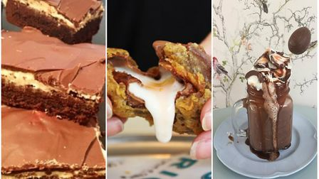 Some of the different ways you can enjoy Creme Eggs in Norfolk. (L-R) Creme Egg Brownies (Photo: Cup