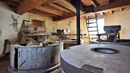 The original mill workings. Pic: Sowerbys.