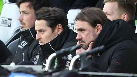 Daniel Farke has tightened up the City defence...but can he work his magic at the other end? Picture