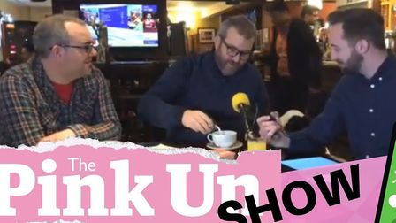 BBC Radio Norfolk duo Chris Goreham and Rob Butler join Michael Bailey down the pub for this week's