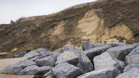 Corton coastline could see a dramatic change if coastal erosion is allowed to continue.Picture: Nick