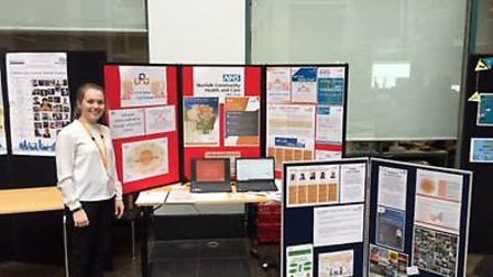 NCHC present work at NHS England conference. Photo: NCHC