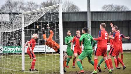 Gorleston are back on the road this weekend, with a trip to Newmarket. Picture: David Hardy