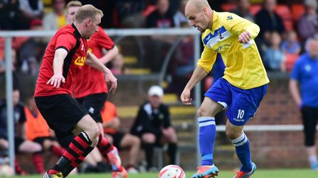 Matt Blake marked his Norwich United return with a goal in midweek. Picture: Archant