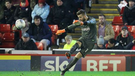 Angus Gunn - a quality performer for the Canaries this season. Picture: Paul Chesterton/Focus Images