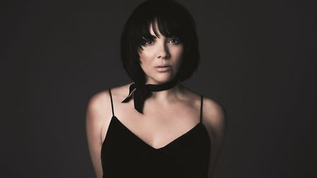 Martine McCutcheon who is appearing on her Up Close and Personal tour. Photo: BMG/Pip