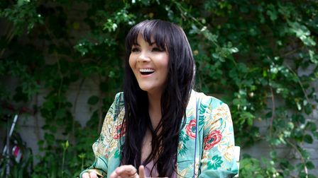 Martine McCutcheon who is appearing on her Up Close and Personal tour. Photo: Sonya Jasinski
