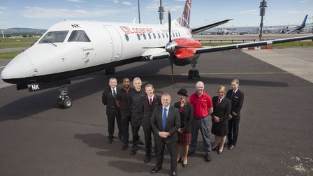 The Norwich-Inverness route was one of two new routes announced by Loganair for summer 2018, which w