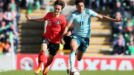 Norwich City and Northern Ireland defender Jamal Lewis is targeting a busy summer for his country. P