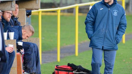 Thetford boss Danny White has enjoyed a good week in charge. Picture: Steve Adams