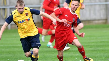 Billy Smith was at the heart of Wisbech's comeback against Harborough. Photo: IAN CARTER