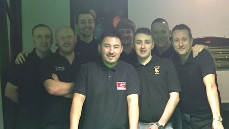 Norfolk A county snooker team had a great win in the English National County Championships, beating