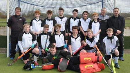 The Harleston Magpies Under-14s boys squad who have won through to the national finals in May. Pictu