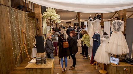 The EDP Bride Show at Oxnead Hall. 25.03.2018 Photo: Lee Blanchflower