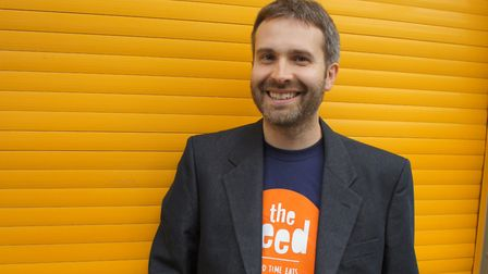 Chief Executive of The Feed, Matt Townsend. Picture provided by The Feed.