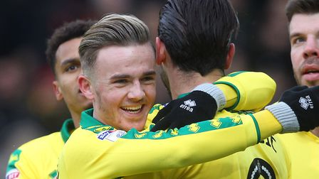 Mario Vrancic has struck up a big friendship with James Maddison at Norwich City. Picture: Paul Ches
